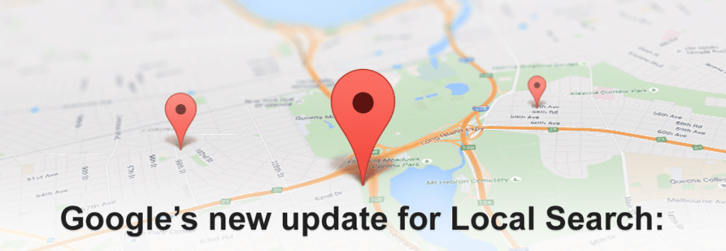 Google's new update for local search, Dentons Digital, Website Design Build, Wiltshire, Somerset