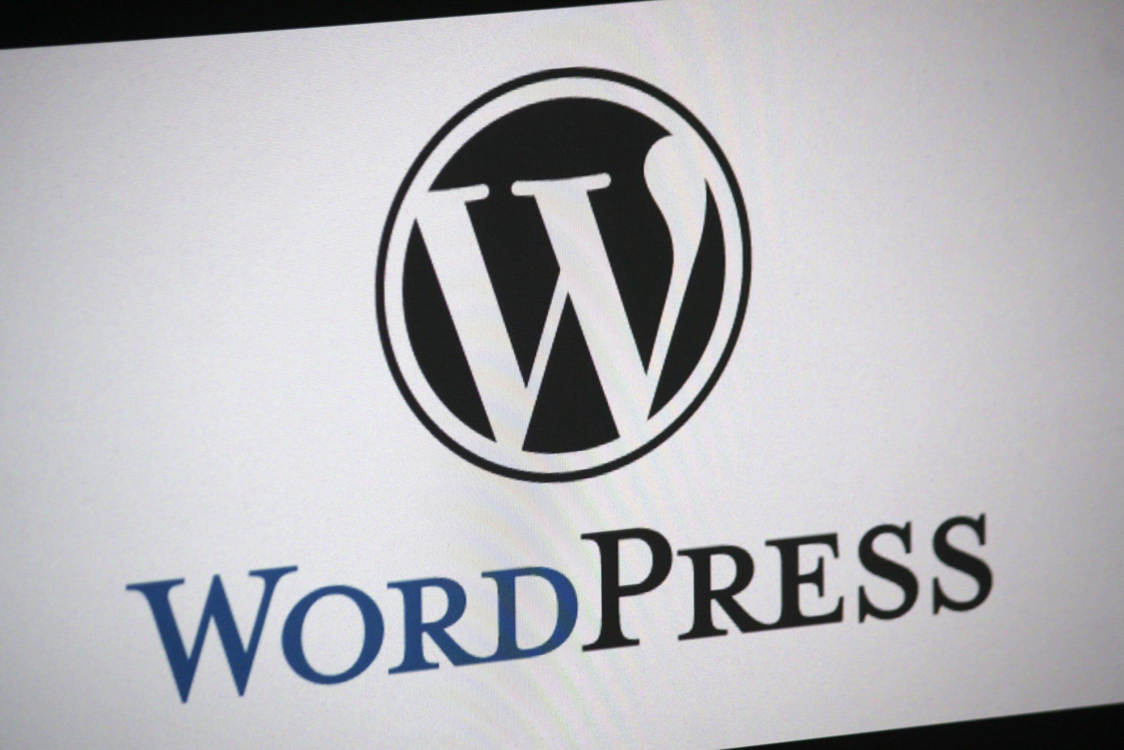 wordpress logo, Dentons Digital, Website Design Build, Wiltshire, Somerset