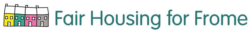 Fair Housing for Frome logo, Dentons Digital, Website Design, Wiltshire, Somerset