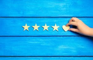 Four stars and one heart, Dentons Digital Marketing Agency, Reviews and Testimonials, Wiltshire, Somerset